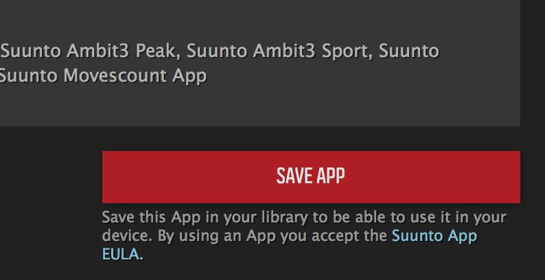 Save App