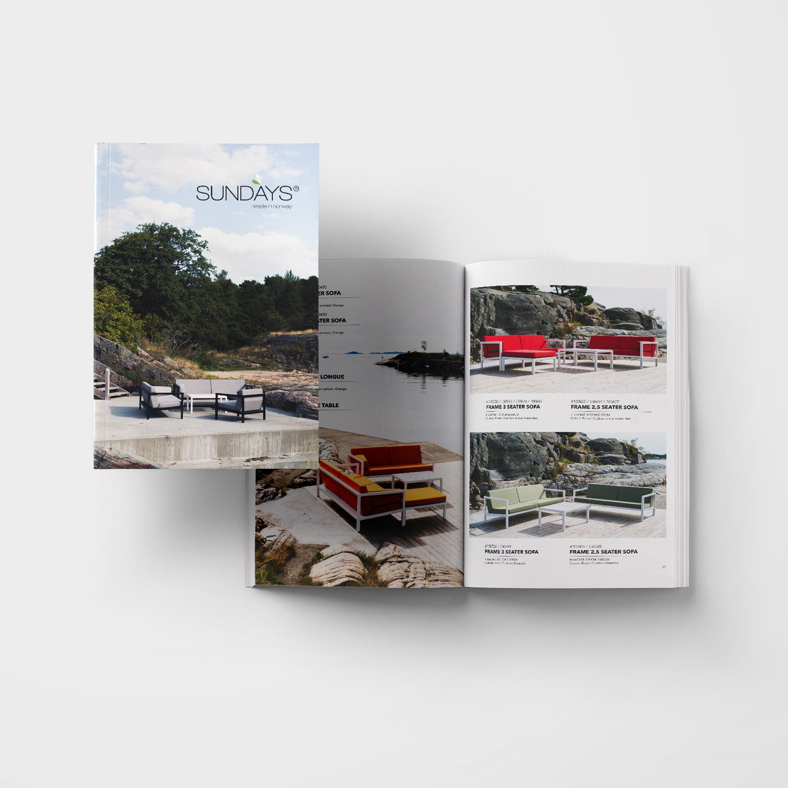 """Bilde til """"Katalog til Sundays Design"""""""