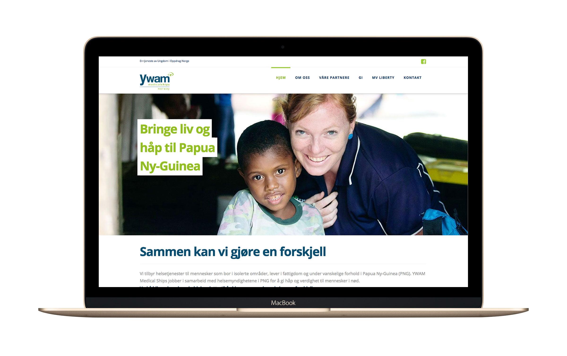 """Bilde til """"Nettside til YWAM Medical Ships Norway"""""""