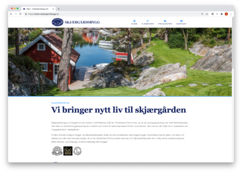 "Featured image for ""Byggmesterfirma Skjærgårdsbygg AS"""