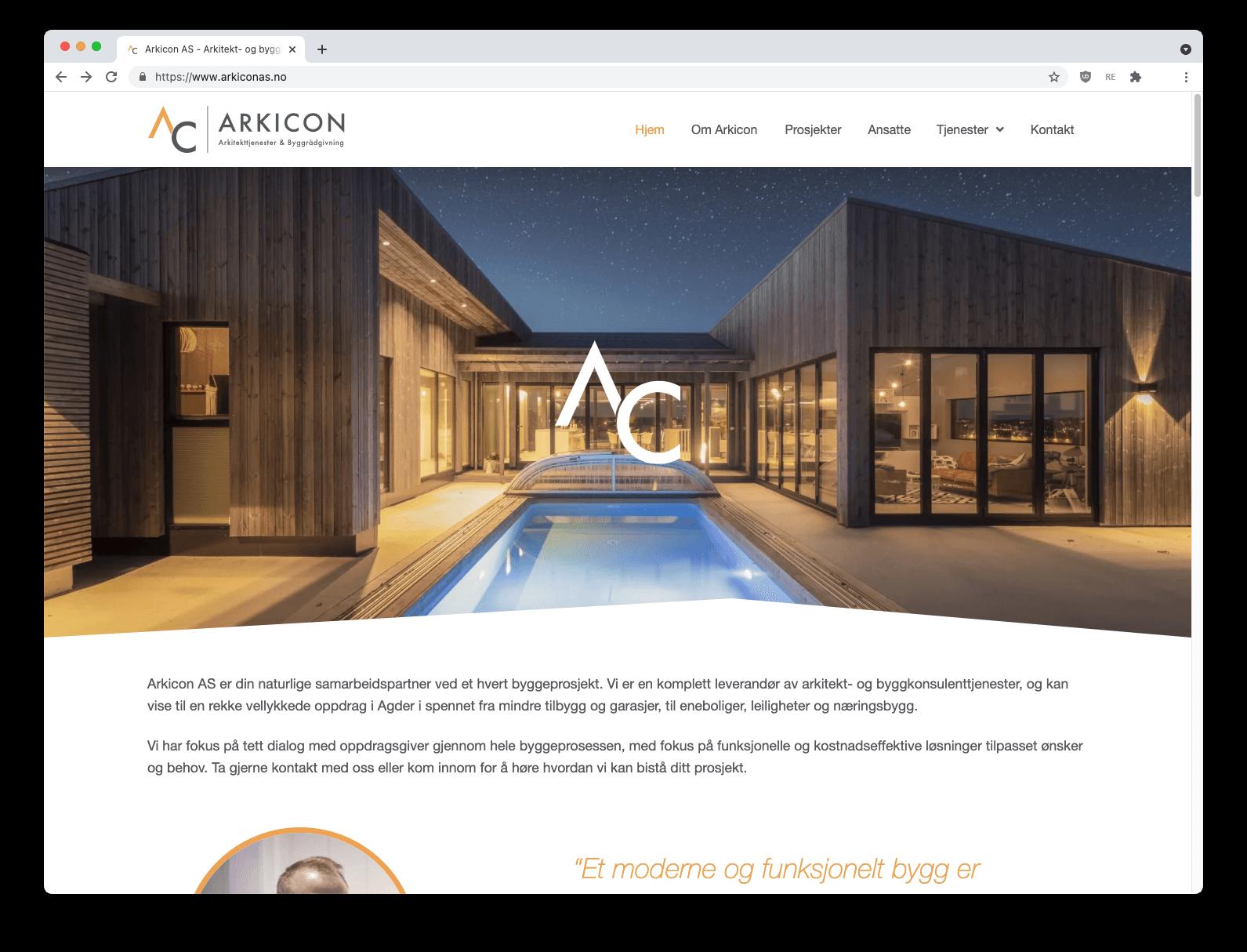 """Bilde til """"Arkicon arkitekt og byggeteknisk konsulentvirksomhet"""""""